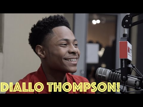 Diallo Thompson talks his role in Barbershop The Next Cut, Working With Ice Cube And Common And More With B High