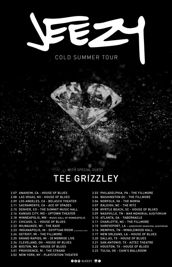 Jeezy Announces 'Cold Summer Tour' with Tee Grizzley