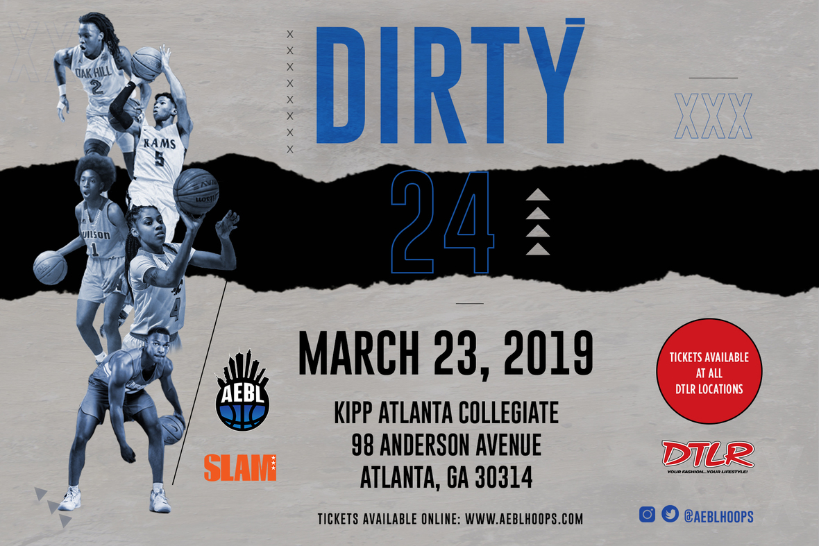 "5ae30288996 The 3rd Annual AEBL x DTLR ""Dirty24"" H.S ALL STAR GAME POWERED BY SLAM  MAGAZINE"